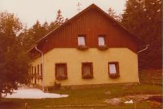 Schlafhaus nach umbau ca. 1975