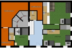 Schlafhaus Erdgeschoss