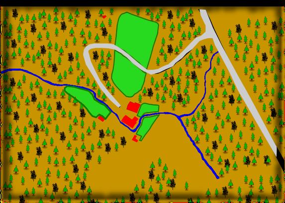 Übersichtsplan Gelände